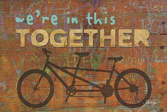 Marla Rae MA189 - Together - Bicycle for Two, Together, Signs from Penny Lane Publishing