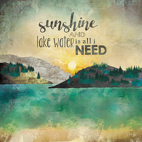 Marla Rae MA2059 - Sunshine and Lake Water - Sunshine, Lake, Island from Penny Lane Publishing