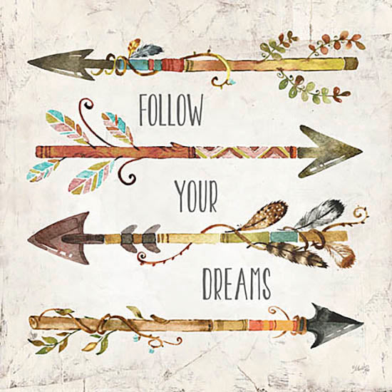 Marla Rae MA2084GP - Follow Your Dreams - Arrows, Encouraging, Signs from Penny Lane Publishing