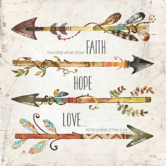 Marla Rae MA2085GP - Faith, Hope, Love - Arrows, Encouraging, Signs from Penny Lane Publishing