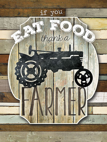 Marla Rae MA2116aGP - Thank a Farmer - Tractor, Food, Signs, Farm from Penny Lane Publishing