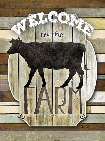 Marla Rae MA2117aGP - Welcome to the Farm - Cow, Welcome, Farm from Penny Lane Publishing