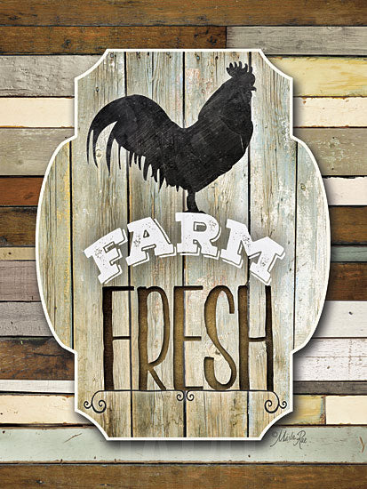 Marla Rae MA2137 - Farm Fresh - Rooster, Farm, Country from Penny Lane Publishing