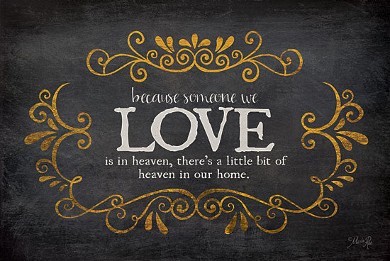 Marla Rae MA2148 - Love - Heaven in Our Home - Love, Inspiring, Signs, Typography from Penny Lane Publishing