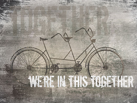 Marla Rae MA2162GP - We're in This Together - Bicycle for Two, Together, Signs, Vintage from Penny Lane Publishing