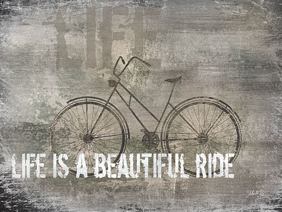 Marla Rae MA2163GP - Life is a Beautiful Ride - Bicycle, Beautiful, Vintage, Signs from Penny Lane Publishing