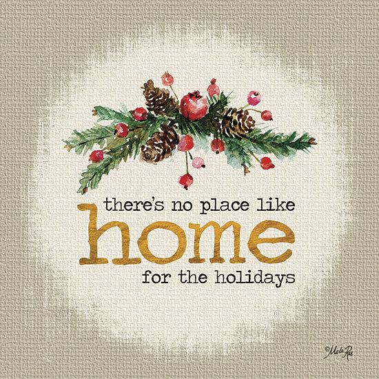 Marla Rae MA2168GP - Home for the Holidays - Holidays, Signs, Home, Pine Cones from Penny Lane Publishing