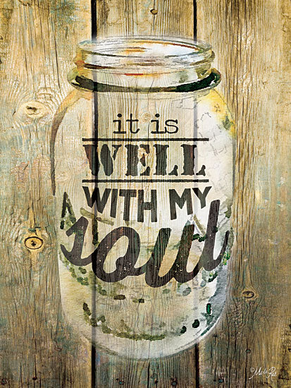 Marla Rae MA2199 - It is Well With My Soul - Jar, Inspiring from Penny Lane Publishing