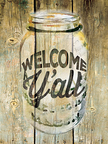 Marla Rae MA2200GP - Welcome Y'all - Jar, Welcome from Penny Lane Publishing
