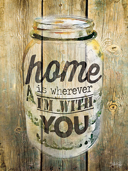 Marla Rae MA2201GP - Home is Wherever I'm With You - Jar, Home from Penny Lane Publishing