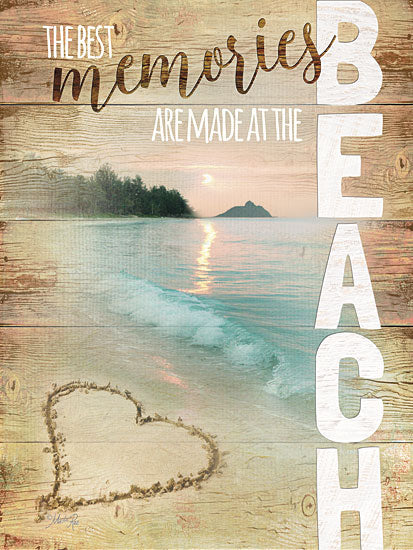 Marla Rae MA2271 - Beach Memories - Beach, Signs, Coastal from Penny Lane Publishing