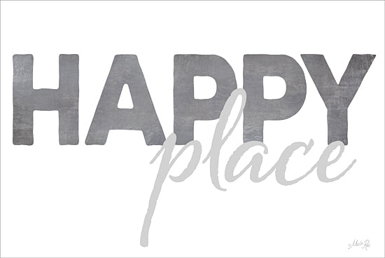 Marla Rae MA2361GP - Happy Place - Happy, Place, Signs from Penny Lane Publishing