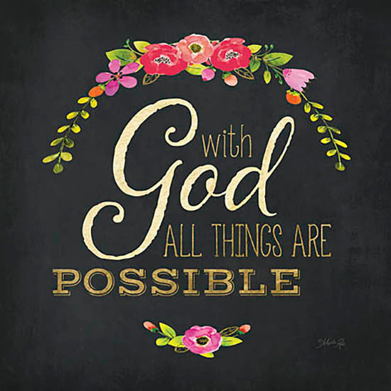 Marla Rae MA2368 - All Things are Possible - God, Floral, Religious from Penny Lane Publishing
