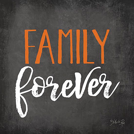 Marla Rae MA2379 - Family Forever - Chalkboard, Family from Penny Lane Publishing