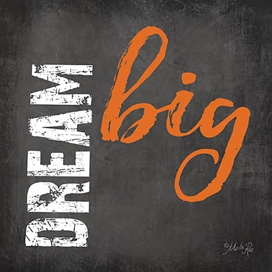Marla Rae MA2386 - Dream Big - Chalkboard, Dream from Penny Lane Publishing