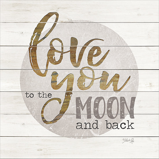 Marla Rae MA2397GP - Love You to the Moon and Back - Love, Moon, Inspirational from Penny Lane Publishing