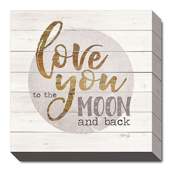 Marla Rae MA2397 - Love You to the Moon and Back - Love, Moon, Inspirational from Penny Lane Publishing