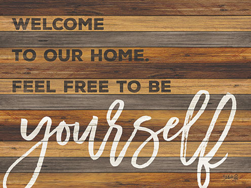 Marla Rae MA2415GP - Be Yourself - Home, Wood, Decorative, Signs, Typography from Penny Lane Publishing