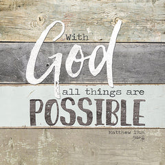 MA2422 - With God All Things are Possible - 12x12