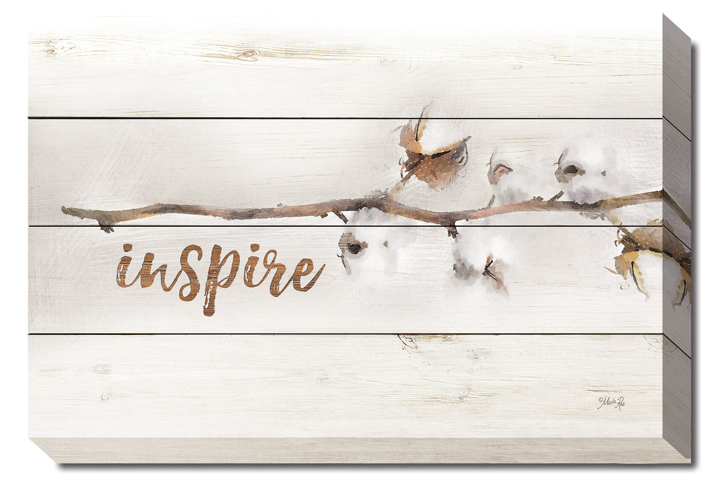 Marla Rae MA2447 - Cotton Stems - Inspire - Cotton, Decorative, Nature, Inspirational from Penny Lane Publishing