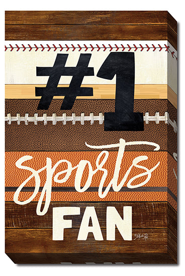 Marla Rae MA2492 - #1 Sports Fan - Sports, Fan, Signs, Children Art from Penny Lane Publishing