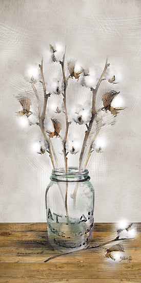 Marla Rae MA2500GP - Cotton Stem - Cotton Bouquet, Jar from Penny Lane Publishing
