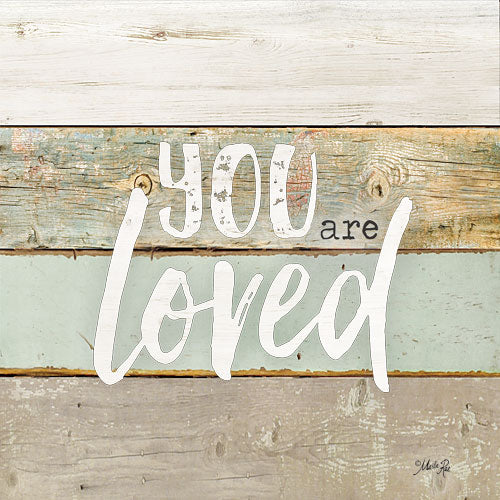Marla Rae MA2590GP - You are Loved - Typography, Signs, Love from Penny Lane Publishing