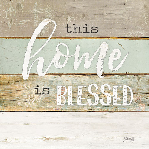 Marla Rae MA2591 - This Home is Blessed - Typography, Signs, Blessed from Penny Lane Publishing