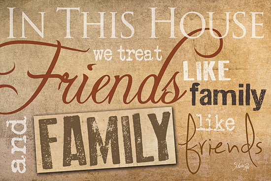 Marla Rae MA270 - Friends and Family - In This House, Family, Friends from Penny Lane Publishing