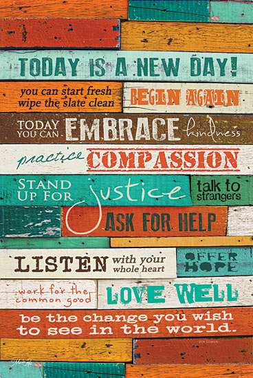 Marla Rae MA290 - A New Day - Encouraging, Signs from Penny Lane Publishing