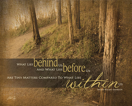 Marla Rae MA578 - Within Us - Ralph Waldo Emerson, Quote, Trees, Forest, Signs from Penny Lane Publishing