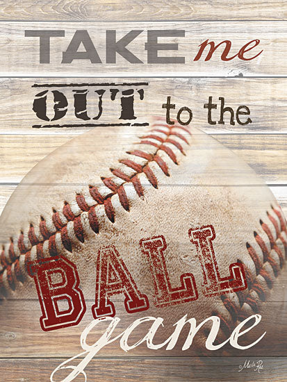 Marla Rae MA847A- Take Me Out to the Ball Game - Baseball, Game, Ball, Game from Penny Lane Publishing