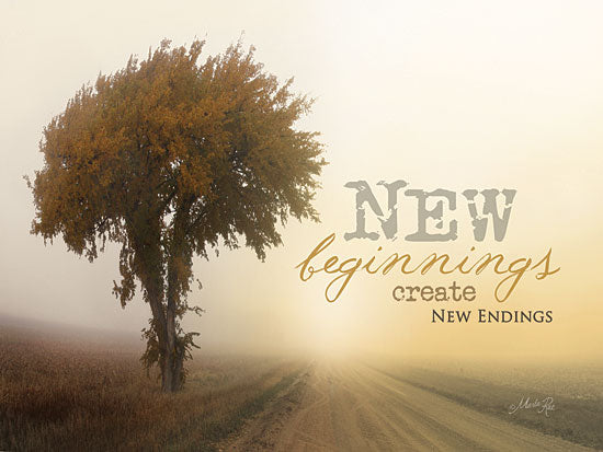 Marla Rae MA851 - New Beginnings - Beginnings, Endings, Tree, Path, Road, Signs from Penny Lane Publishing