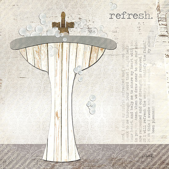 Marla Rae MA900 - Refresh - Refresh, Sink, Bathroom from Penny Lane Publishing