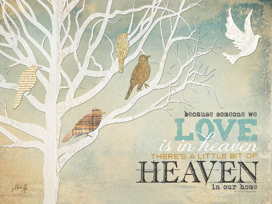 Marla Rae MA919 - Heaven in Our Home - Heaven, Birds, Trees, Dove, Love from Penny Lane Publishing