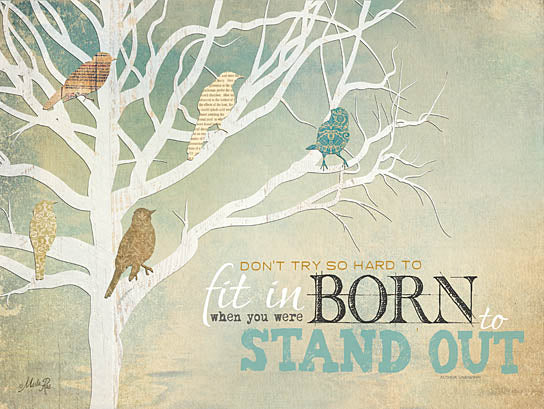 Marla Rae MA920 - Born to Stand Out - Stand Out, Birds, Tree from Penny Lane Publishing