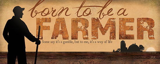 Marla Rae MA948 - Born to be a Farmer  - Farmer, Farm, Barn from Penny Lane Publishing