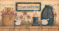 MARY434 - It's Always Good to be Home - 30x16