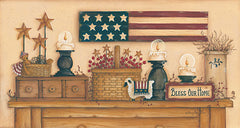 MARY439 - Bless Our American Home - 30x16