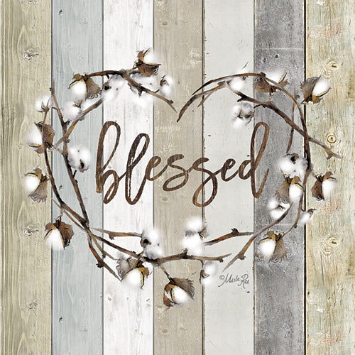 Marla Rae MAZ5024GP - Blessed Cotton Wreath - Wreath, Cotton from Penny Lane Publishing