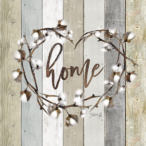 Marla Rae MAZ5025GP - Home Cotton Wreath - Wreath, Cotton, Home from Penny Lane Publishing