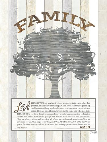 Marla Rae MAZ5038aGP - Family Prayer Tree - Tree, Family, Inspirational from Penny Lane Publishing