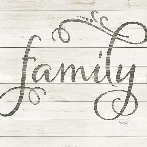 Marla Rae MAZ5041GP - Simple Words - Family - Calligraphy, Family, Inspirational from Penny Lane Publishing