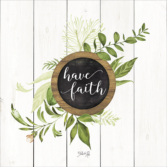 Marla Rae MAZ5069GP - Have Faith Greenery - Greenery, Inspirational, Leaves from Penny Lane Publishing