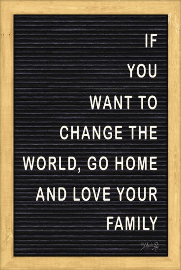 Marla Rae MAZ5089GP - Love Your Family Felt Board - Change the World, Love Your Family, Felt Board from Penny Lane Publishing