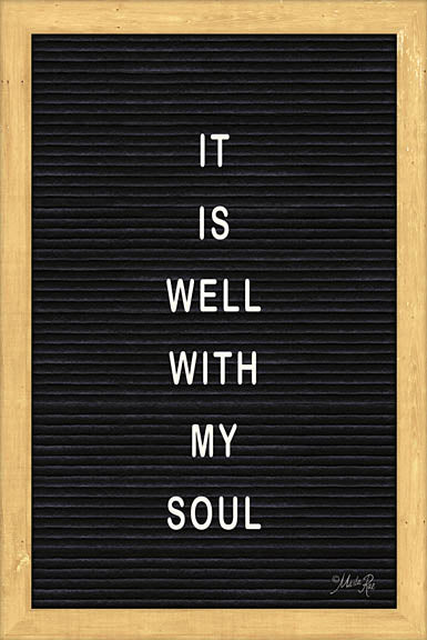 Marla Rae MAZ5094 - It is Well With My Soul Felt Board - Inspirational, Felt Board, Typography from Penny Lane Publishing