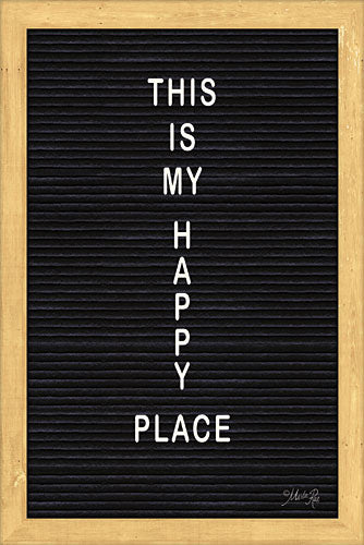 Marla Rae MAZ5098 - This is My Happy Place Felt Board - Happy Place, Felt Board from Penny Lane Publishing
