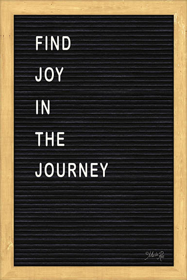 Marla Rae MAZ5099GP - Find Joy in the Journey Felt Board - Inspirational, Felt Board, Typography from Penny Lane Publishing