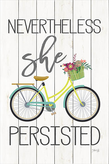 Marla Rae MAZ5102GP - Nevertheless She Persisted  - Bicycle, Tween, Inspirational from Penny Lane Publishing