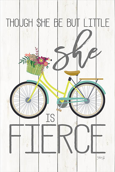 Marla Rae MAZ5103 - She is Fierce  - Bicycle, Tween, Inspirational from Penny Lane Publishing